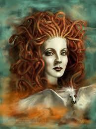 архетип, Медуза-Горгона, Горгона, волосы из змей, змеи в волосах